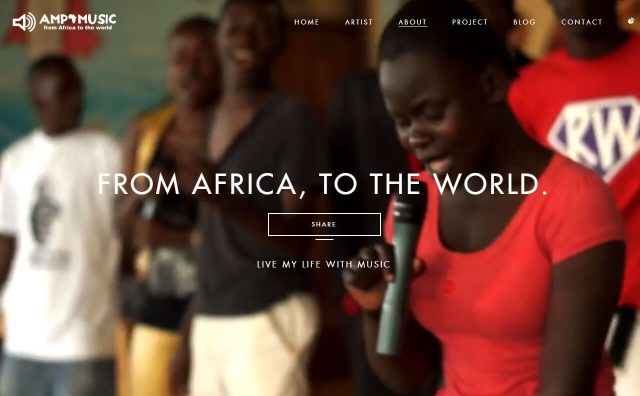 AMP MUSIC - From Africa, To the World -