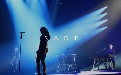 Sade SadeのWEBデザイン