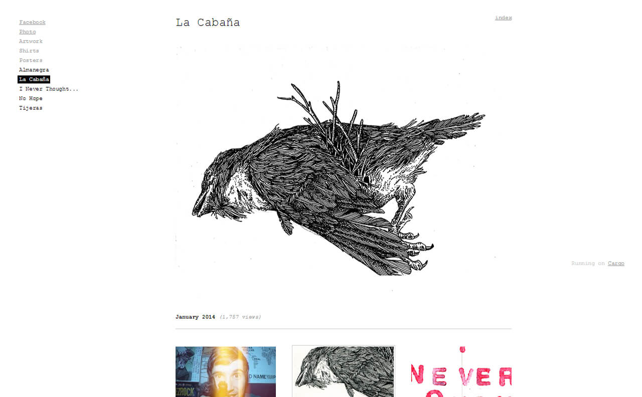 almanegraのWEBデザイン
