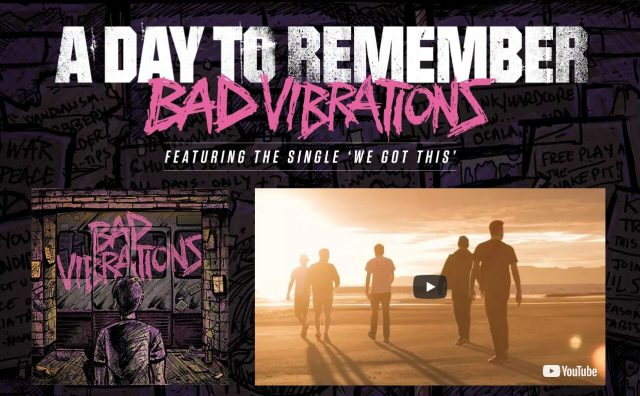 A Day To Remember | Bad Vibrations Out Now