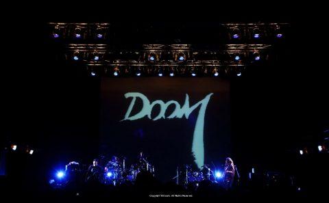 DOOM official siteのWEBデザイン