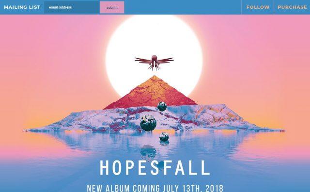 HopesfallのWEBデザイン