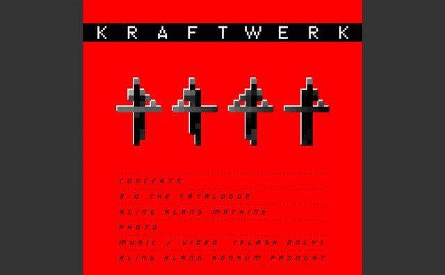 KRAFTWERKのWEBデザイン