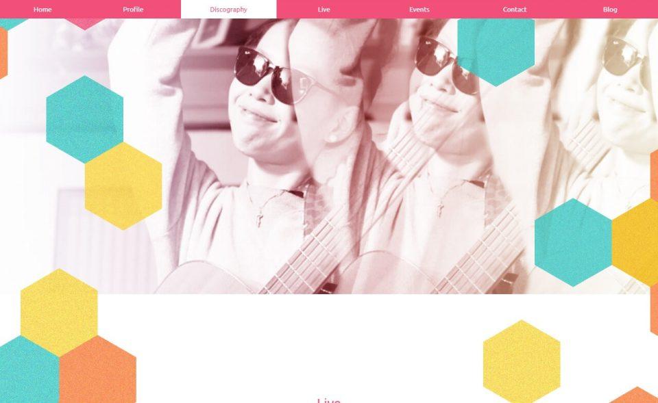 Miyake Kaori 三宅芳 -Official Site-のWEBデザイン