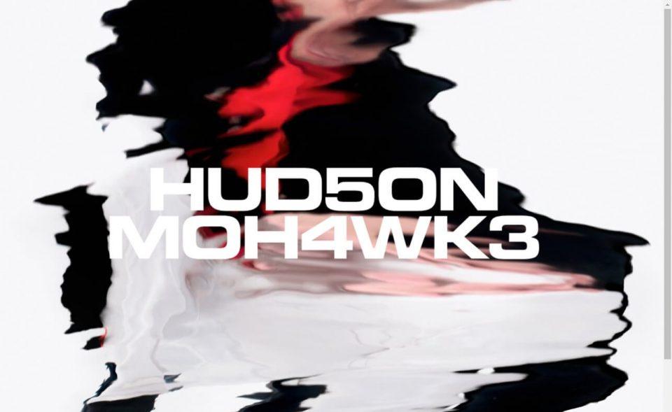 Hudson MohawkeのWEBデザイン