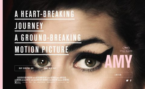 Amy – Official Movie Site – In Theaters This JulyのWEBデザイン