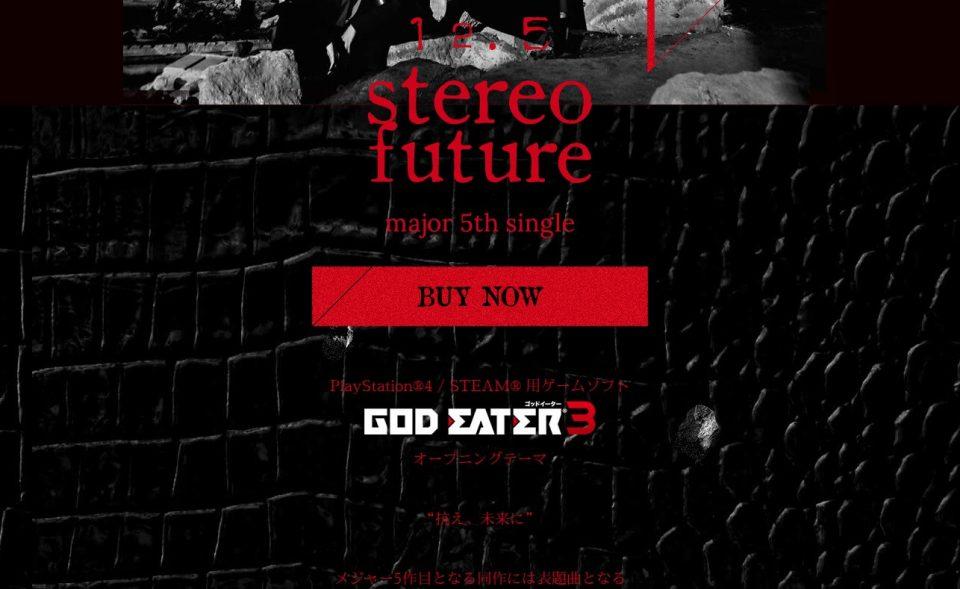 stereo future – BiSHのWEBデザイン