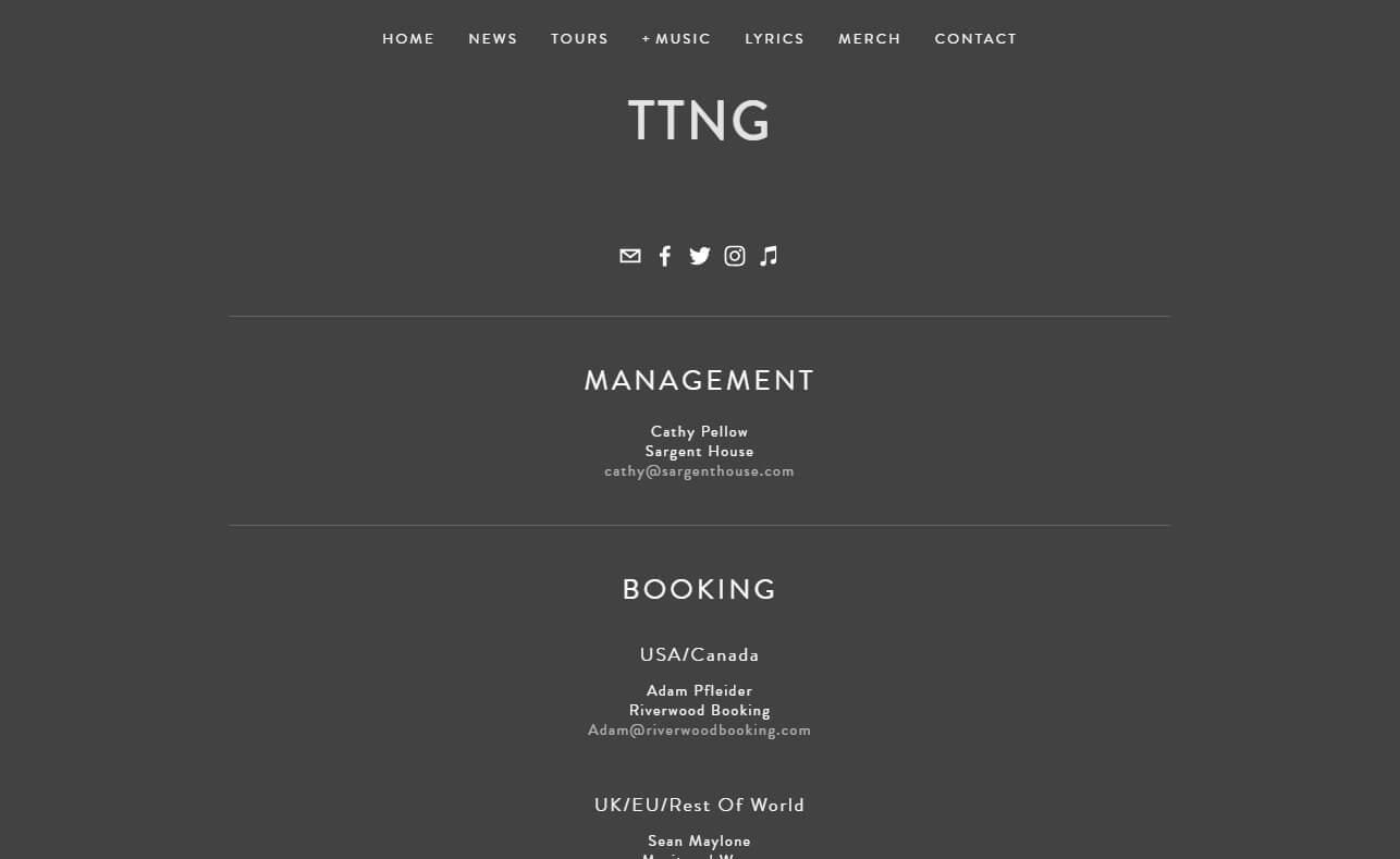 TTNGのWEBデザイン