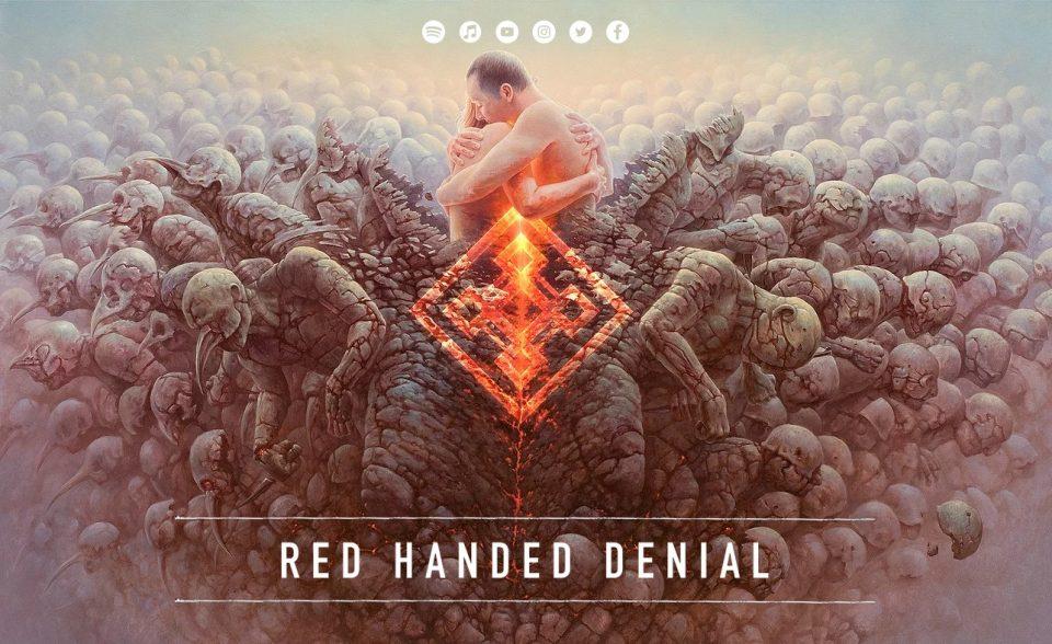 RED HANDED DENIALのWEBデザイン