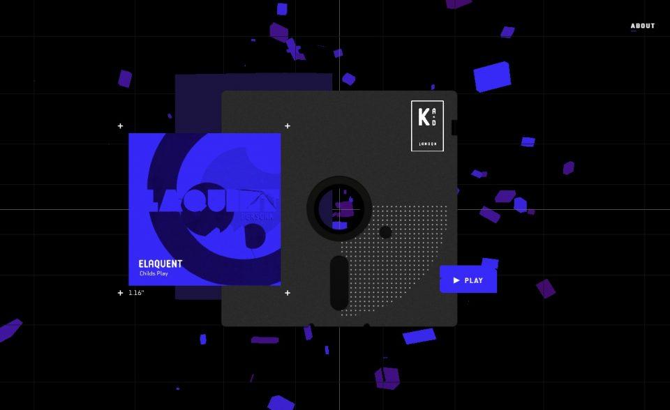 Arkade LondonのWEBデザイン