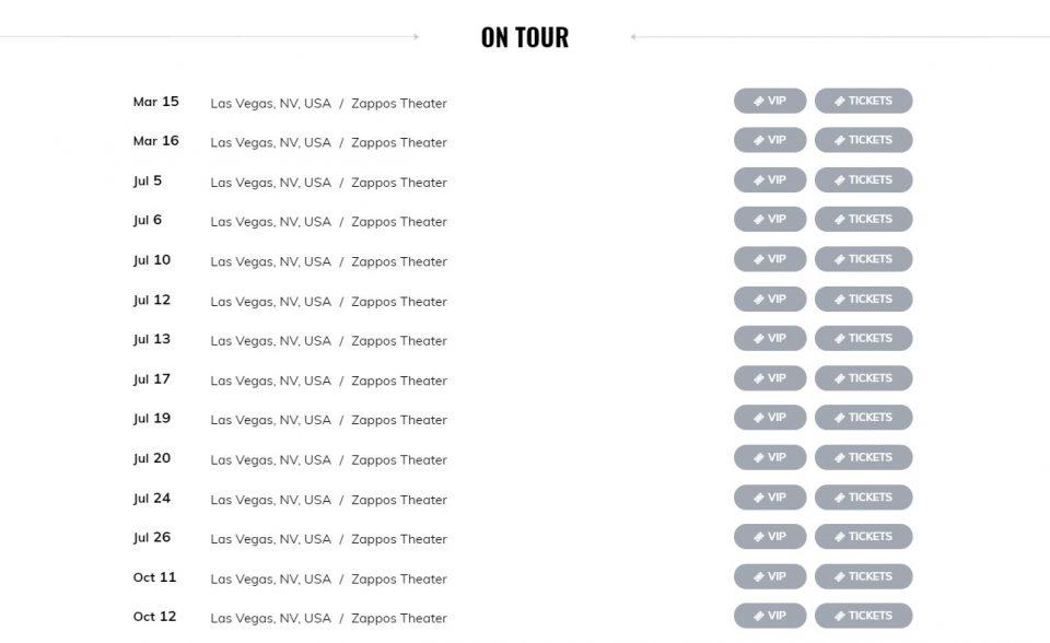 Gwen Stefani | Official SiteのWEBデザイン