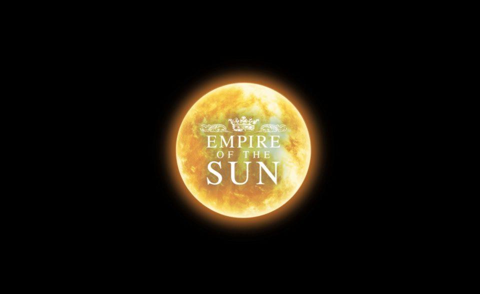 Empire Of The SunのWEBデザイン