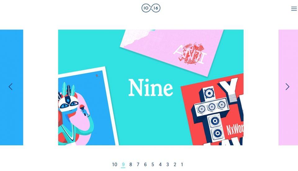 10×16のWEBデザイン