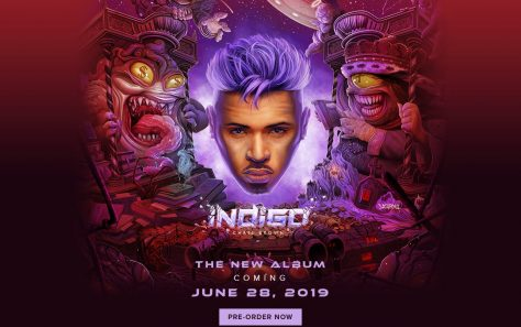 Chris Brown – Indigo | Official WebsiteのWEBデザイン
