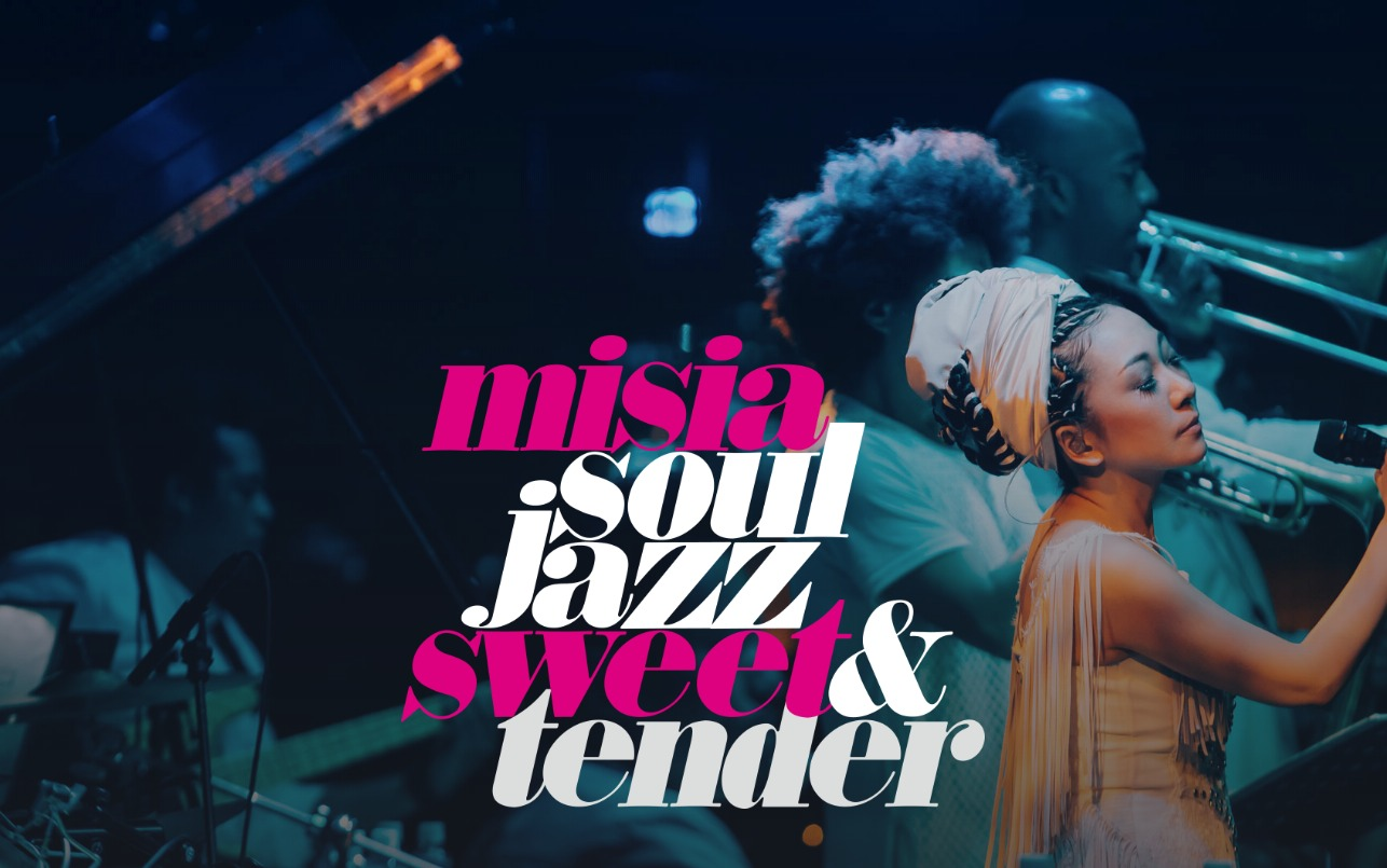 MISIA SOUL JAZZ SWEET & TENDERのWEBデザイン