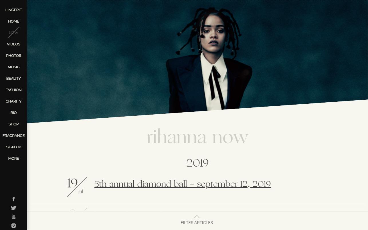 Home – RihannaのWEBデザイン