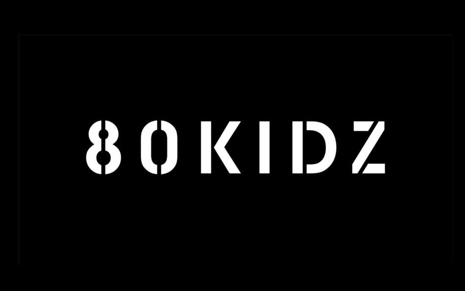 80KIDZ – 80KIDZ Official SiteのWEBデザイン