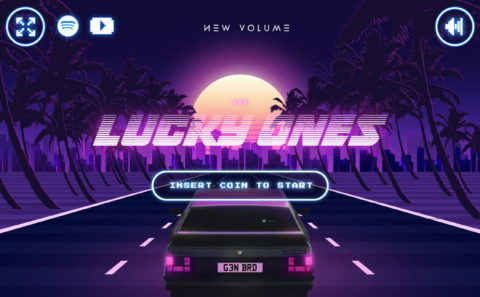 New Volume – The Lucky Ones (Game)のWEBデザイン