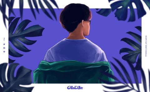 OLD Jr. Official Site   HAPPY SADのWEBデザイン
