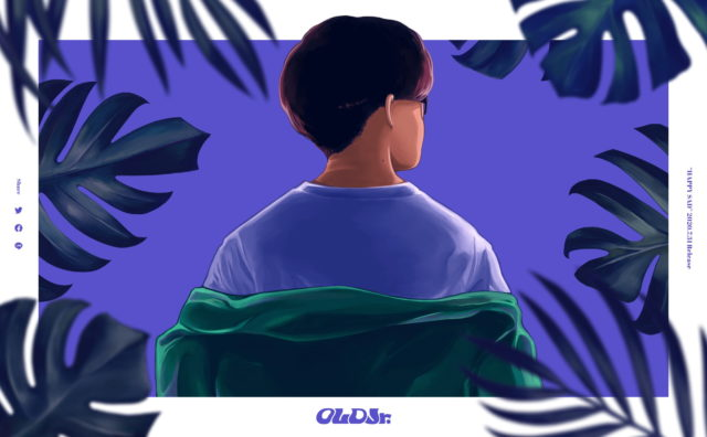 OLD Jr. Official Site | HAPPY SADのWEBデザイン
