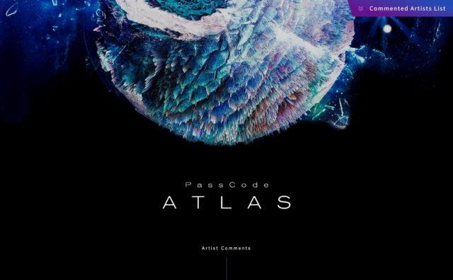 ATLAS|PassCodeのWEBデザイン