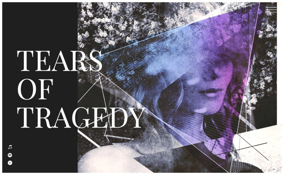TEARS OF TRAGEDY Official webのWEBデザイン