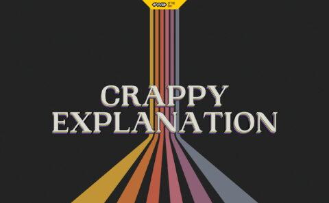 Crappy ExplanationのWEBデザイン