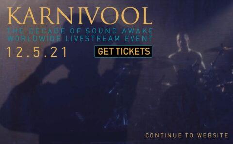 KarnivoolのWEBデザイン