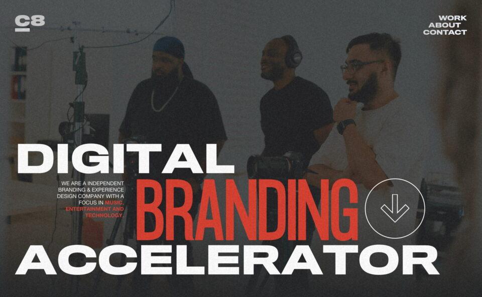 CRE8TIV Agency – Digital Branding AcceleratorのWEBデザイン