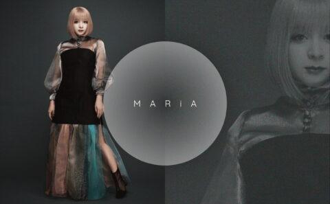 MARiA 特設サイトのWEBデザイン